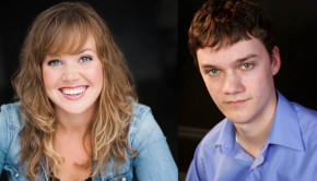 Kim Larson and Matthew Simmons of Smoke on the Mountain at Pacific Theatre